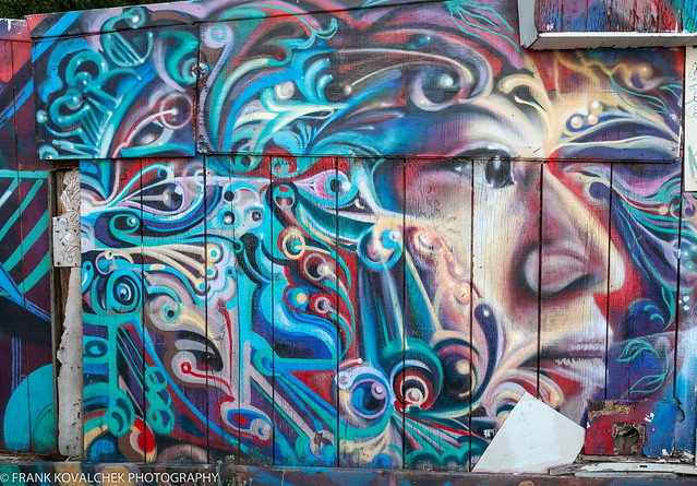 Wall art, Mission District, San Francisco