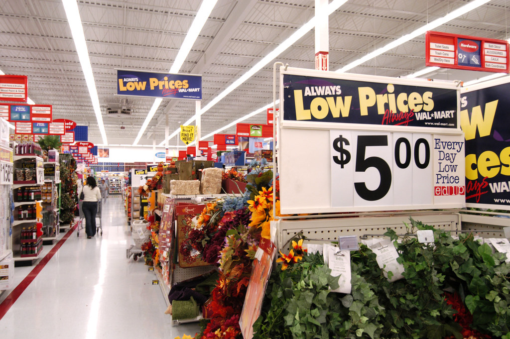 Hlp 040805 Jpg Always Low Prices Sign Wal Mart Supersto
