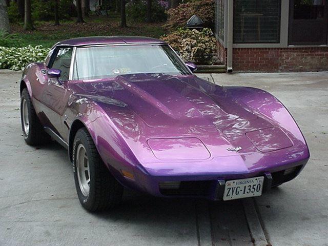 Chevy Corvette Stingray car