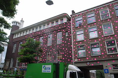 pink dots on Witte de With