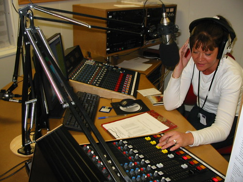 Radio Studio in Use   by monkeyfudge
