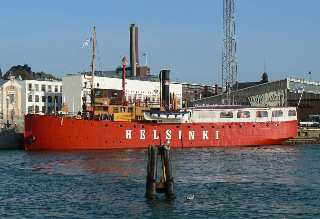 S/S Hyöky (Helsinki) lightship, Finland   phototouring   Flickr