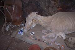 Dentro de la mina de La Ojuela...