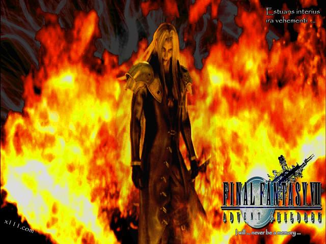 Final Fantasy Vii Advent Children Sephiroth Yet Anothe