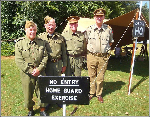 'Home Guard'   Field HQ....