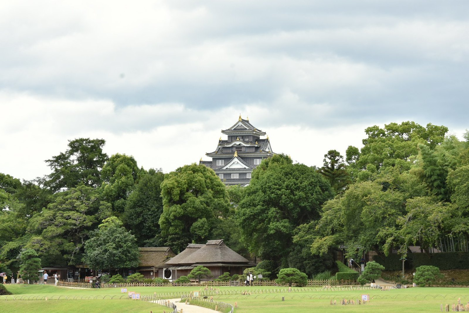 Jardins de Kôraku-en - Le château d'Okayama