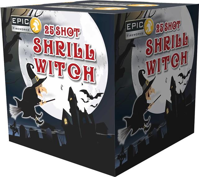 SHRILL WITCH 25 SHOT CAKE