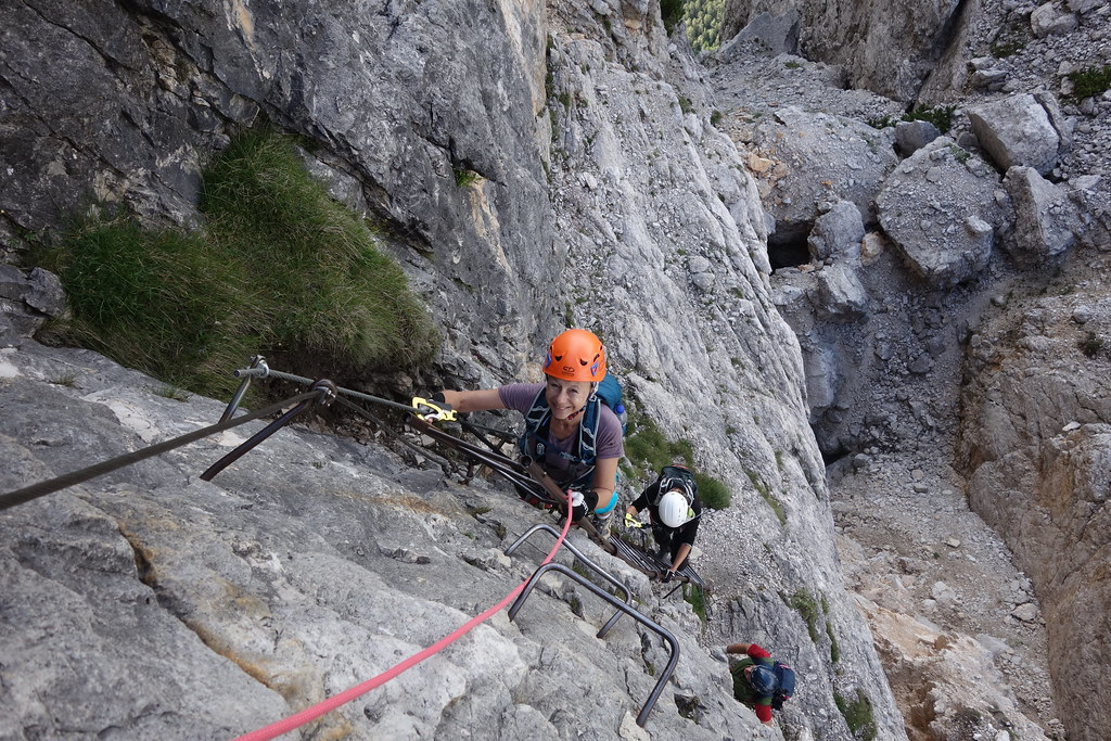Klettersteig Drei Zinnen : Klettersteige rund um die drei zinnen august flickr
