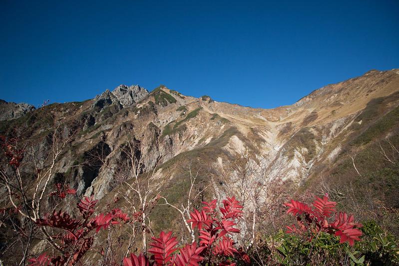 10月の五竜岳