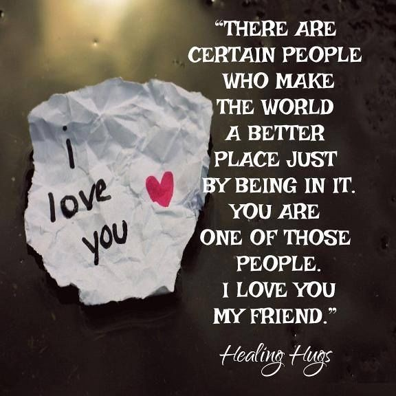 I love you my bff quotes