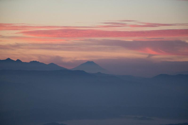 五竜山荘の朝日