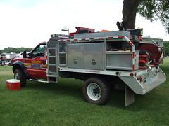 #703 Fast Attack Ford F550 Super Duty truck