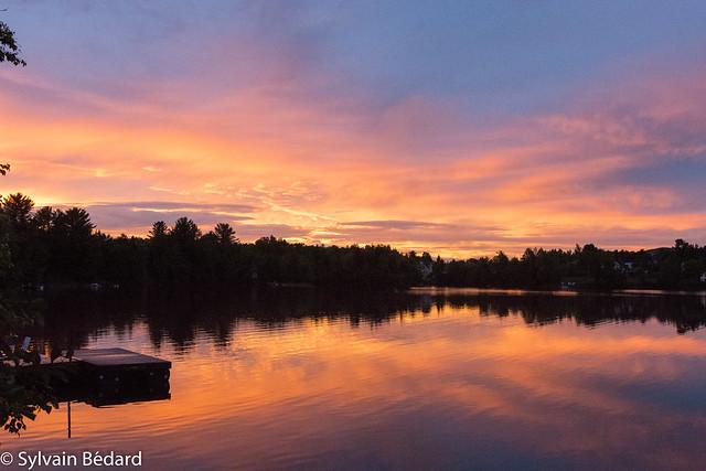 le ciel du Lac Vert après l'orage - Lac Vert sky after a thunderstorm