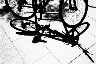 Bike, a shadow of its former self | by Steve Ricoh