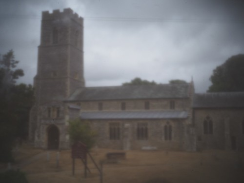 St. Mary's Digital Pinhole  - Out of Camera   by AMcUK
