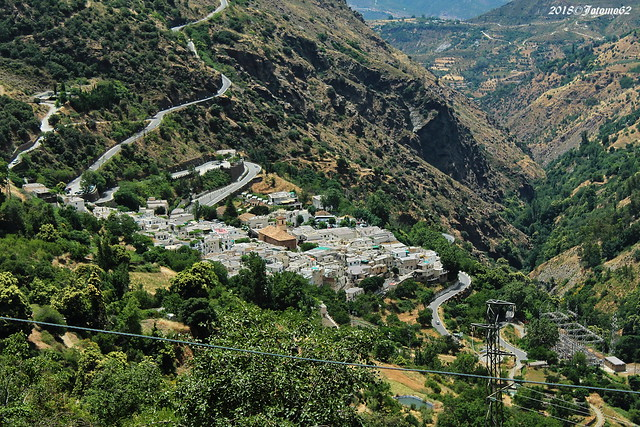Pampaneira desde Bubion