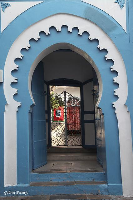 Entrada a un riad - Tanger