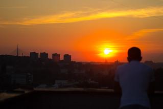 Belgrade sunset | by Somi303