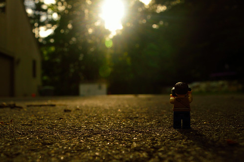 nikon d3200 adventurerjoe lego project365 sunset evening dusk camera photo