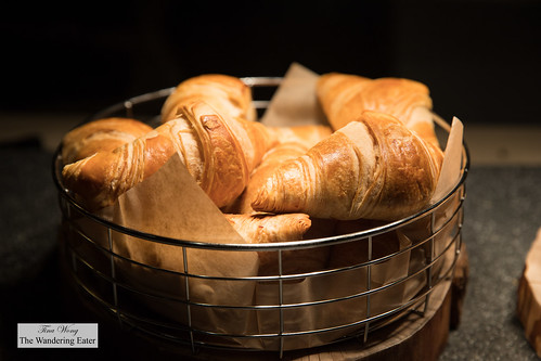 Croissants at the breakfast buffet | by thewanderingeater