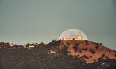 Deflector shield over Lick Observatory