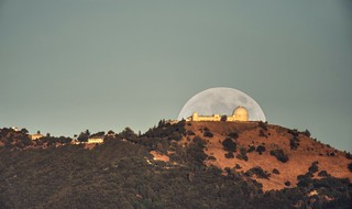 Deflector shield over Lick Observatory | by PeterThoeny