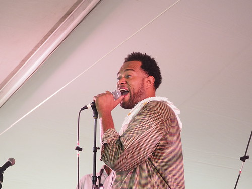 James Williams at Satchmo SummerFest - Aug. 4, 2018. Photo by Michele Goldfarb.
