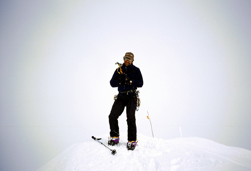 Summit of Denali 2 days after rescue 2. RESULT.