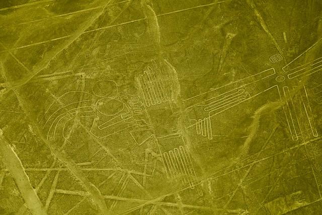 Líneas y figuras de Nazca.