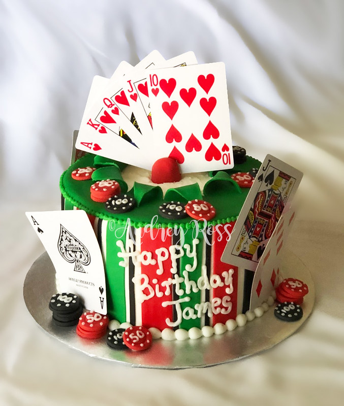 Astonishing Poker Birthday Cake A Cake From Me Is Always A Safe Gamble Funny Birthday Cards Online Unhofree Goldxyz