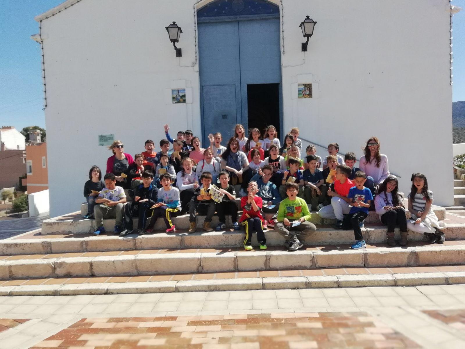 (2018-04-18) - Visita ermita alumnos Beatriz-Carmina-Lucía,3º,La Foia - María Isabel Berenguer Brotons - (01)