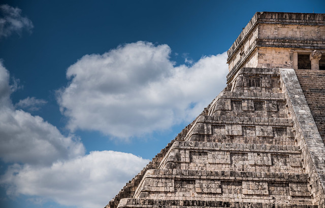 Temple of Kukulcan. One of the new seven wonders of the world.