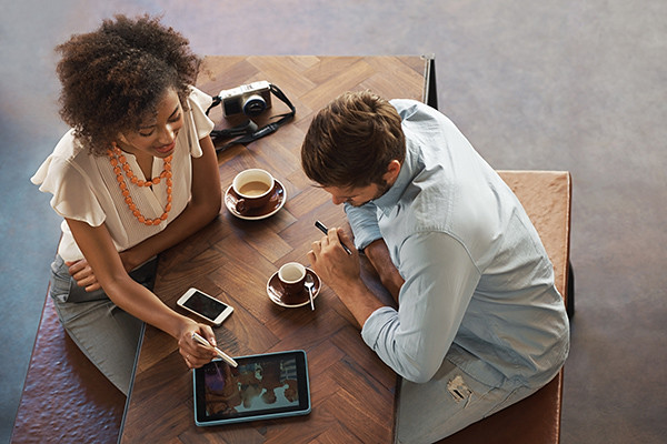 coffee.networking   Shot of two people having a coffee at a …   Flickr