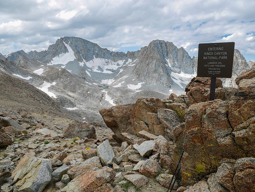 Looking south from Lamarck Col | by snackronym
