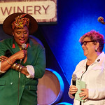 Mon, 09/07/2018 - 8:48pm - Deva Mahal and her band at City Winery in New York City, 7/9/18. Hosted by Rita Houston. Photo by Gus Philippas/WFUV