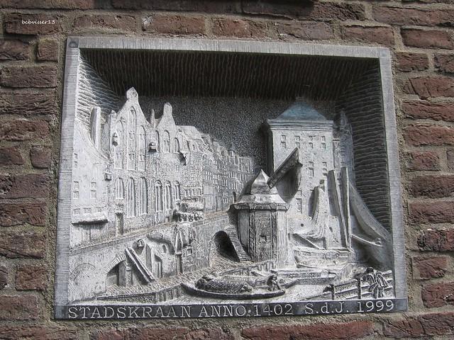 lantaarn consolle Oude Gracht a/d Werf, Utrecht