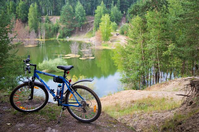 Bicycle ride on weekend