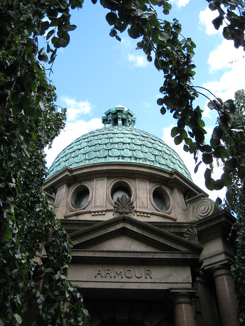 The Armour Mausoleum Woodlawn Cemetery 1117