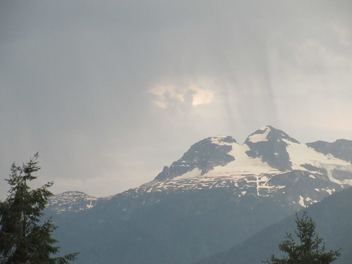 mountain revelstoke bc british columbia canada rain