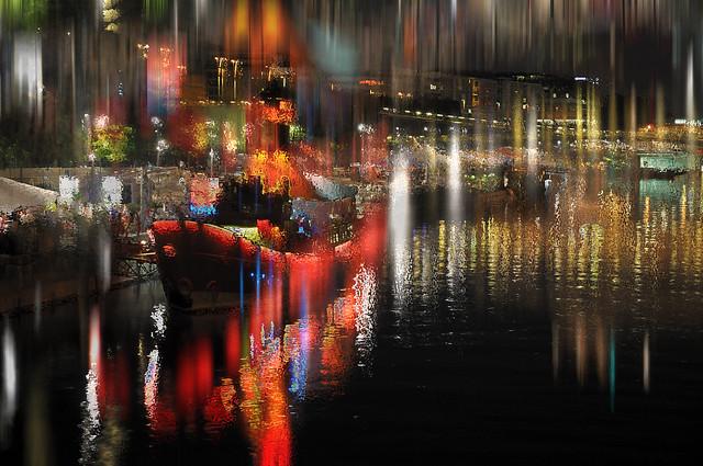 The magic stuff of the night  -  Le velours magique de la nuit