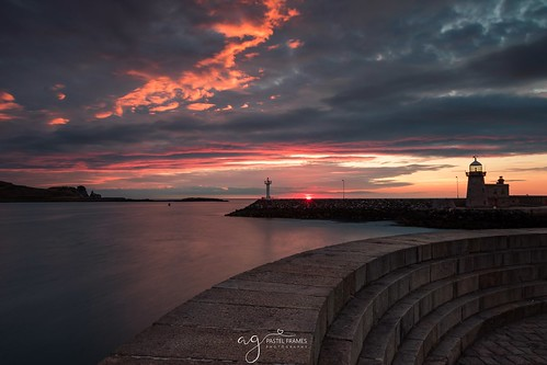 dublin howth harbour sunrise sun clouds colour amazingsky amazing canon