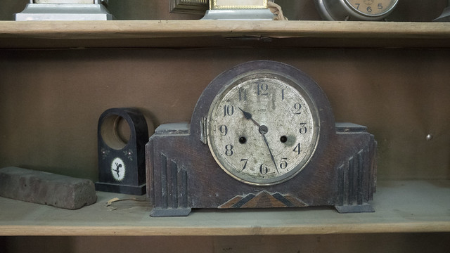Broken Clocks at Egypt's S.Hinhayat Clock shop