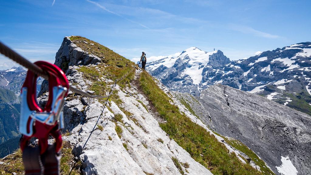 Klettersteig Graustock : Klettersteig graustock gruebehund flickr