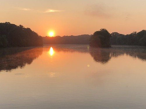 princeton sunrise morning canal raritandelawarecanal newjersey