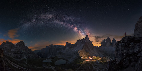 Guardian of Tre Cime | by Carlos F. Turienzo