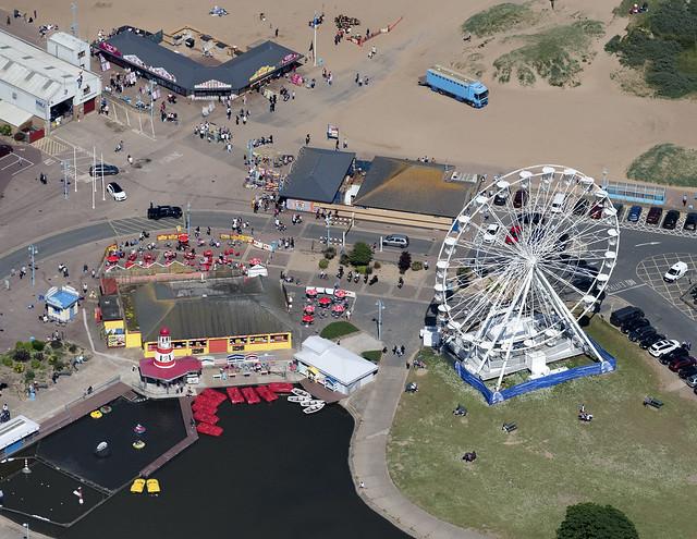 Skegness aerial image