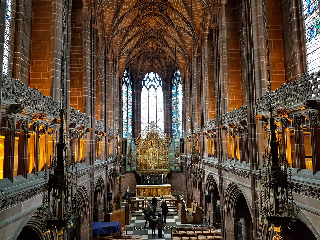 The Lady Chapel, Liverpool Anglican  Cathedral