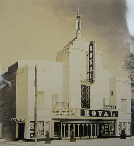 royaltheater artdeco hogansvillega historic architecture