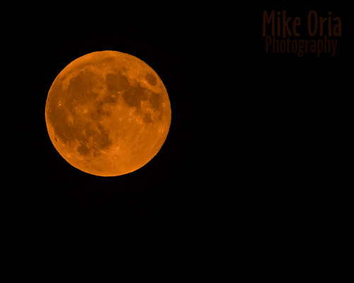 Orange Moon | by mikeSF_