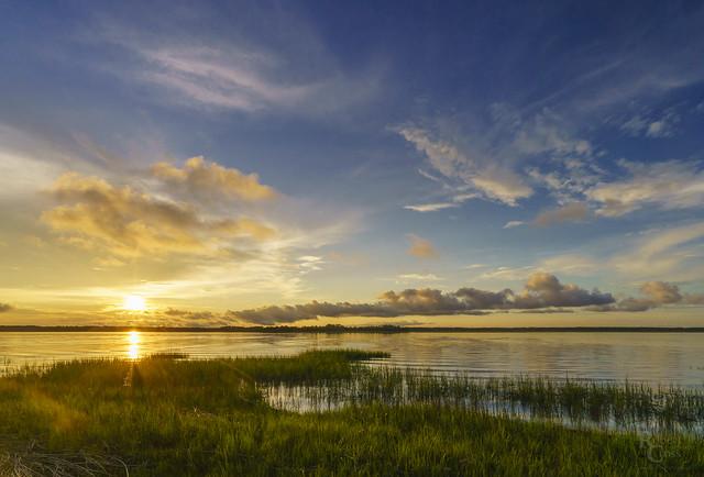 Sea Island Sunset